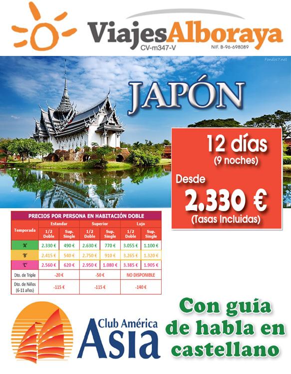 Oferta 12 dias Japon
