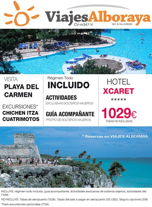 Riviera Maya para singles oferta