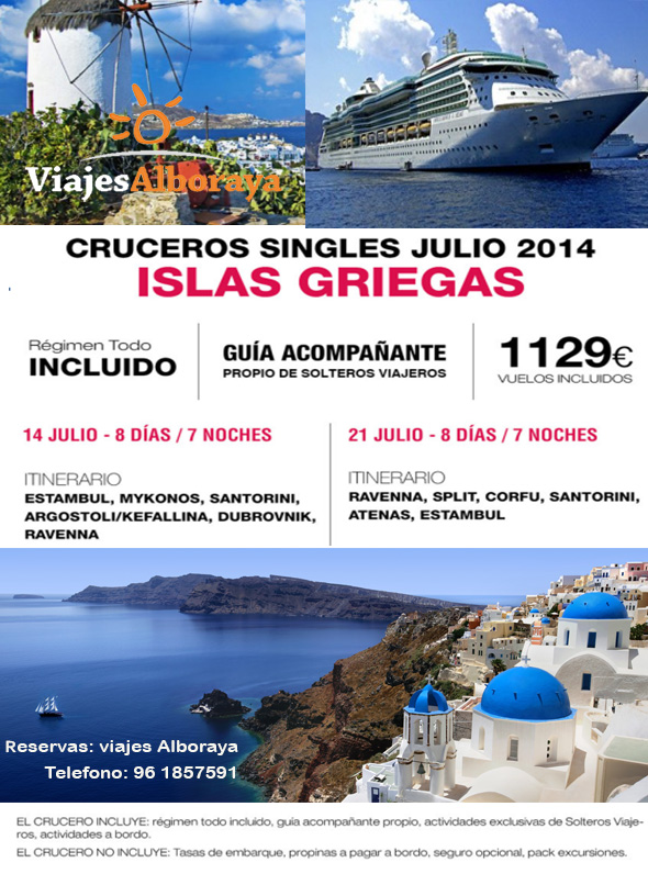descripcion oferta islas griegas