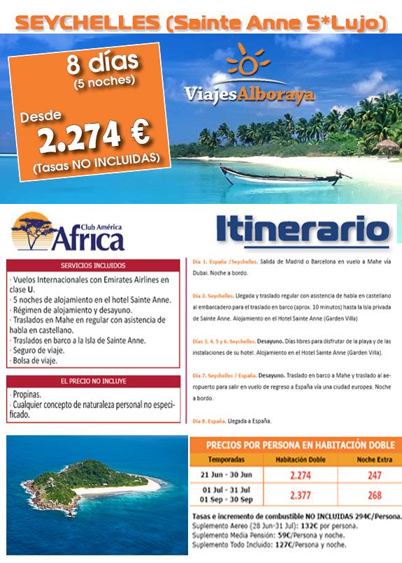 islas sechelles oferta viaje