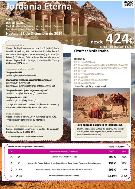 informacion viaje a jordania